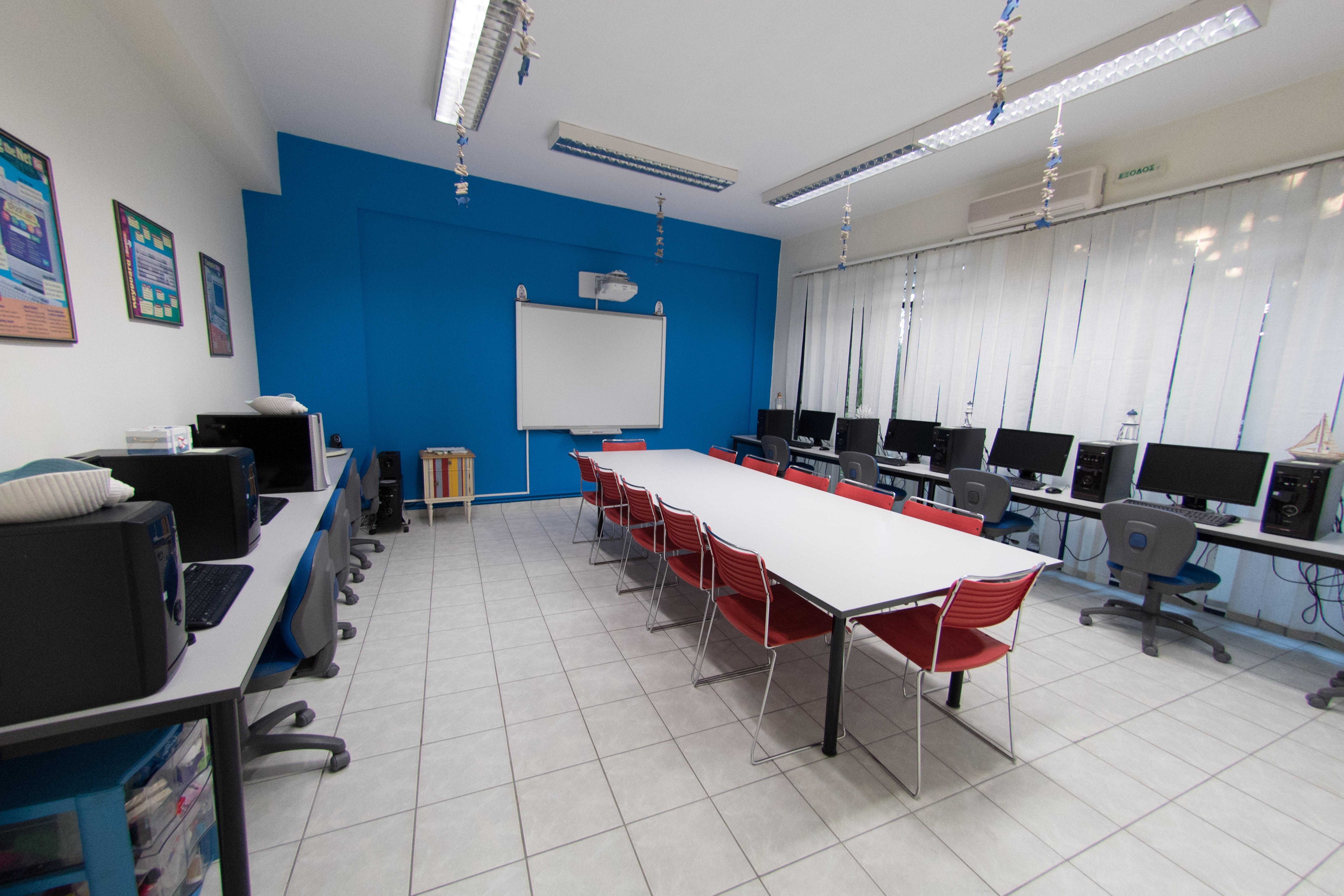 Αίθουσα πληροφορικής κεντρικού σχολείου